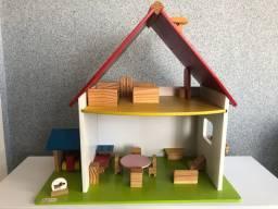 Casinha de Boneca Wood Toys
