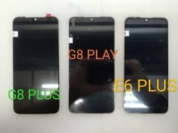 Consertamos Tela Display Vidro Tonch Motorola Moto G8 G8 Plsu g8 Play E6 Plus