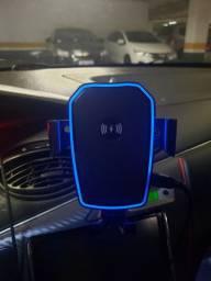 Suporte Veicular com Carregador Sem Fio Knup KP-S119 Novo