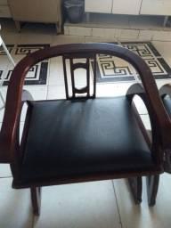Vendo par de cadeiras rustica