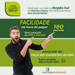 Lotes na região Sul, Sem Consulta SPC e com prestações a partir de 470 reais