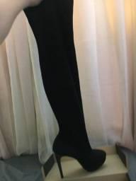 Bota cano longo sexy