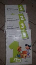 Livros da escola Adventista usados.