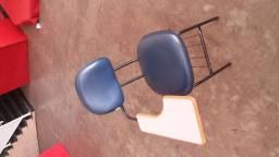 13 Cadeiras de ferro e braço