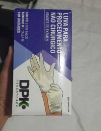 Luva Para Procedimento Não Cirúrgico Latex - Com Po - Dpk
