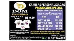 Camisa Personalizada Promoção Especial