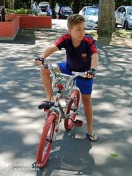 Bicicleta cromada aro 20