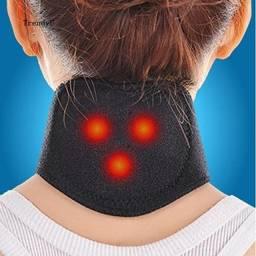 Tdu Cinto De Aquecimento De Terapia Magnética Massageador Cervical Vertebra
