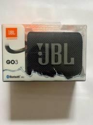 Caixinha de som JBL GO3, original.