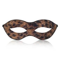 Título do anúncio: Máscara Tiazinha em Pelúcia Oncinha