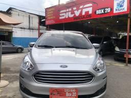 Ford k.a sedan 2019 com gnv 37.900 financiado+entrada