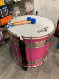 Surdo marcatto usado 24 polegadas percussão