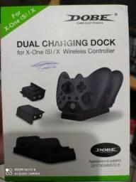 2 baterias + base carregadora para controle Xbox One