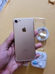 V/T IPhone 7 128 GB Completo Novo (Aceito Cartão)