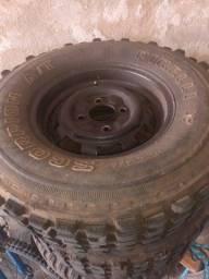 Pneu 235x75x15 garra Cross (somente pneu)