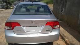 Honda civic prata lxs 2008 completo