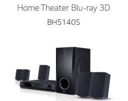 Home Theater LG BH5140S Com Blu-Ray 3D 110v - Preto