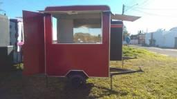 Trailer Lanche Food Truck Direto Da Fábrica