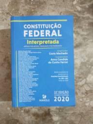 Livro Direito - Constituição Federal - 2020