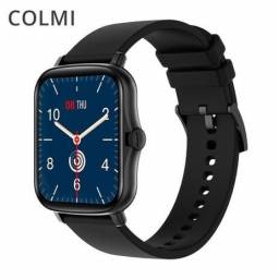 Relógio smartwatch P8 Plus preto 2021 lacrado pronta entrega