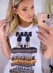 Blusas T-shirt Atacado e Varejo