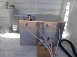 Choppeira Resfriador A Gelo 4 Vias Chopp Completo