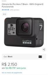 Câmera GoPro Hero7 4K