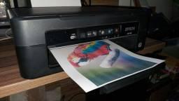 Impressora Epson XP 214 Multifuncional com cartuchos recarregaveis, tintas e cabeça nova