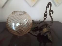 Lustre de bronze lindo