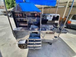 Título do anúncio: carrocinha food truck 8 em 1