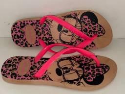 Sandálias direto da fábrica lançamento havaianas