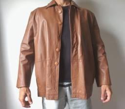 Jaqueta de couro masculina Tribo Carioca