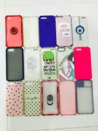 15 capinhas para iPhone 7plus / 8plus