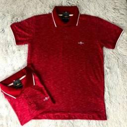 Camisa Pólo 100% algodão