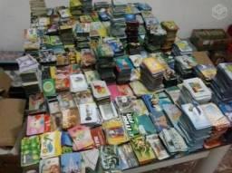 Cartões Telefônicos usados para colecionar.