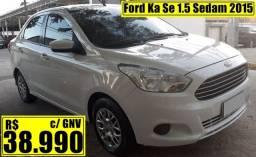 Ford Ka Se 1.5 Sedam 2015 c/ GNV