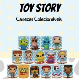 Canecas Colecionáveis Toy Story Estilo Funko