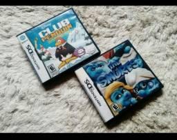 Jogos Nintendo DS originais,dois por 45 reais barato