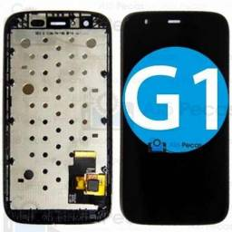 Combo Tela Frontal Touch Display Moto G1 - G2 - G3 - G4 - G4 Play - G4 Plus