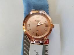 Relógio Feminino Curren Importado NOVO