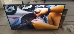 Smart tv semi nova 50' UHD 4k com comando de voz