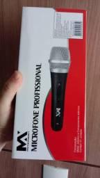 Microfone profissional Maxmidia