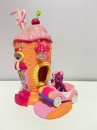 Trio de Brinquedos do Little Poney