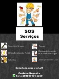 SOS Serviços - Pequenos e grandes reparos e serviços em Geral
