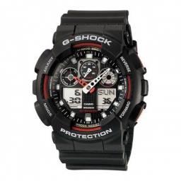 Relógio Casio G-shock Ga-100-1a4dr- Garantia Casio Brasil