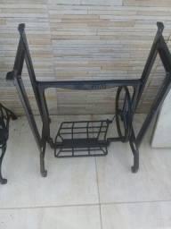 pe de ferro de maquina de costura antiga elgin