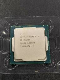 I3 10100f processador intel 10 geração lga 1200- NOVO