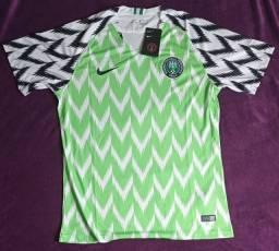 Camisa da Nigeria copa de 2018 (disponível: M e GG)