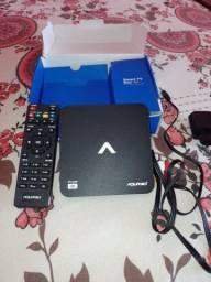Smart tv box 4k aquários