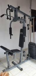 Estação de musculação semi nova WCT Fitness, FITT10, 80 kg.